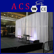 2015 special fashion pipe drape for fashion show