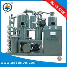 Multi-stage High vacuum Transformer Oil Regeneration,Oil Reconditioning Plant