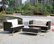 aluminium wicker outdoor furniture/garden set