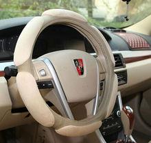 New design 3D various color alcantara car steering wheel cover auto