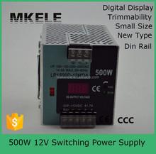LP-500-12 digital readout constant voltage led driver 12v psu 220v 12v transformer 500w 12v led light transformer