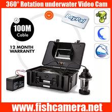 360 degree 100m underwater surveillance hidden camera sexy video