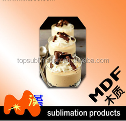 Sublimation MDF Fridge Magnet in Different Sizes and Shapes