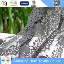 Halloween dressing cotton nylon eyelash lace fabric