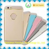 2015 new design metal+tpu clear case for iphone 6 clear case