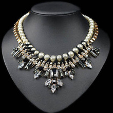 eternalcharm rhinestone choker with pearl different types of necklace