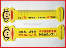 Die cut PP ruler/plastic ruler/flexible ruler