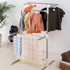 Mobile stainless steel clothes drying rack, scalable modern balcony clothes drying rack 5303