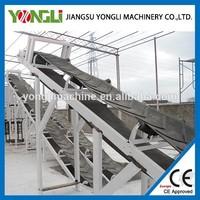 Efficiency sawdust corn belt conveyor