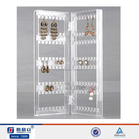 acrylic clear tree shape earring stand jewellery display stands stock wholesale