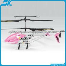 De dibujos animados 3.5ch de control de infrarrojos hello kitty helicóptero rc helicóptero