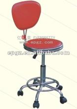 Popular red adjustable bar stools with comfortable high back