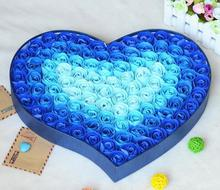 Regalo de San Valentín para expresar el amor Rose flor jabón