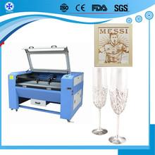 co2 rubber mat wool felt acrylic sheet mdf board laser cutting machine