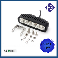 Military vehicles 18W 6 inch C-REE bulbs flood/sport/combo trucks led work light
