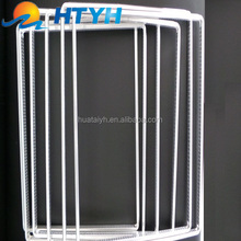 double glazing glass curved aluminum bar for doors and windows