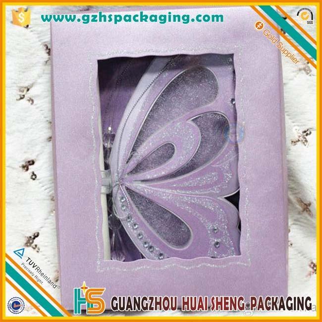 Wholesale Luxury Wedding Invitation Gift Card Box With