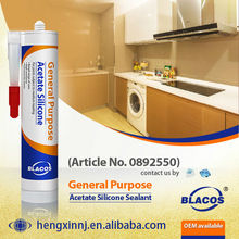 Weatherproofing Uv Resistance Silicone Based Clear Liquid Glass Sealant