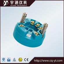 Pt100 rtd entrada salida de señal 4-20ma temperatura inteligente transmisor