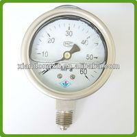 Durable Seismic Engine Oil Pressure Gauge