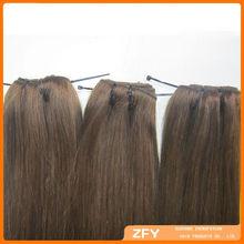 alibaba express brazilian human hair remy virgin huaman hair clip in hair extenion