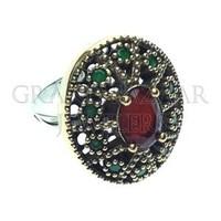 Turkish Jewellery Rings Jewelry Sets Authentic Ottoman Jewelry Otantik Silver Custom Design BUY Direct Wholesale