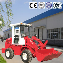 1 ton mini wheel loader micro front end hydraulic tractor with bucket CE approved