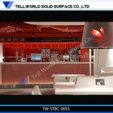 elegant acrylic restaurant bar table/solid surface bar furniture/ lounge bar table