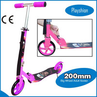 CE approved big wheel kick scooter 200mm kick scooter wheels