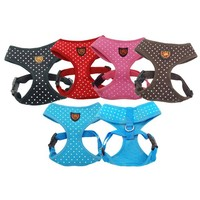 Gourp source! My pet 100% Polyester Dotty Dog Harness in XS size