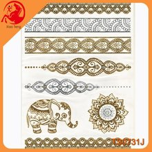 Craft Gem Stickers,Japanese Tattoo Sleeve,Fashion Metallic Tattoo