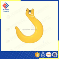 G80 U.S. TYPE DROP FORGED CLEVIS FOUNDRY ROPE HOOK
