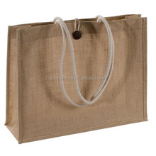 Wholesale Custom Promotional Burlap Tote Bag