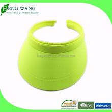 UV protection sun visor cap, vintage visor cap factory china
