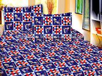 100% Cotton Bedding Set With Radium Printing