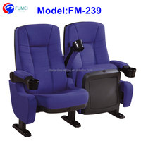 New design commercial seat theater with movable armrest FM-239