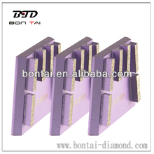 Abrasive tool Wedge Block for grinding granite slabs