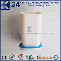 rotating toothbrush cup holder stand