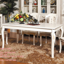 Wood carved dining room tables ,Marble top table, Classic table