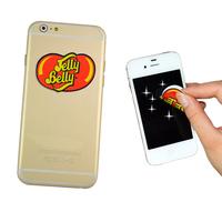 self adhesive phone back microfiber sticker screen cleaner