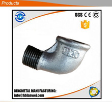 Two Times Baked Galvanized Elbow Malleable Iron Pipe Fittings