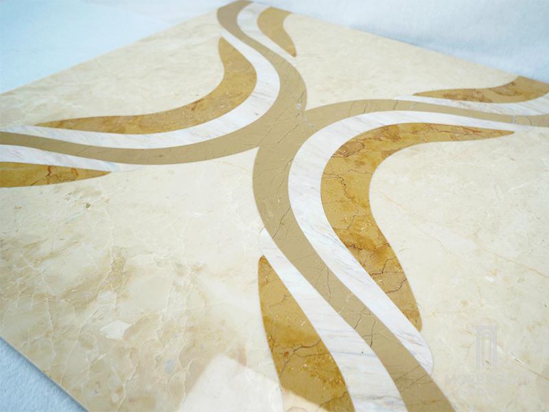 MPHH11G66 Moreroom Stone Waterjet Artistic Inset Marble Panel -5.jpg
