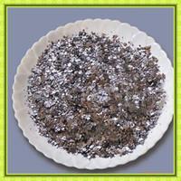 siler grey shiny large flakes graphite