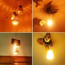 4W LED bulb Warm white E27 Comlite filament LED bulbs light for house decorative