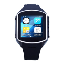 Facebook/Twitter/Skype Android4.4 Smart Watch / BT4.0 3G Watch Phone ,high quality fashion smart watch