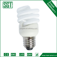 high quality energy-saving lamp with glass and plastic body