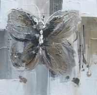 New design Handmade Butterfly Oil Painting On Canvas