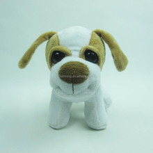 14cm small white dog with big eyes