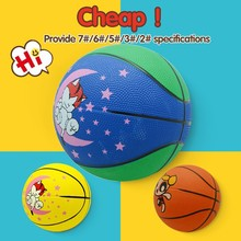 Official size and weight colorful ball,basketball ball size 3