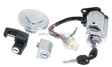 Hot sale good quality motorcycle lock set for CA250/ tank cap/ motorcycle ignition switch